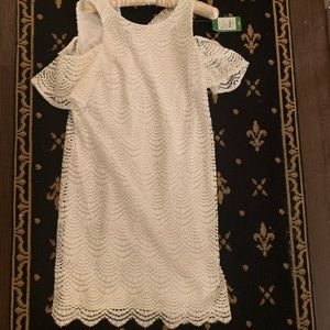 Lilly Pulitzer Lace Cold-Shoulder Dress (NWT)!